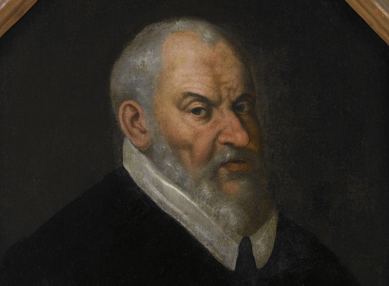 Retrato de Juanelo Turriano; Anónimo español, último cuarto del s. XVI. Óleo sobre lienzo. Museo Civico «Ala Ponzone» (Cremona), Rub. A. 440.