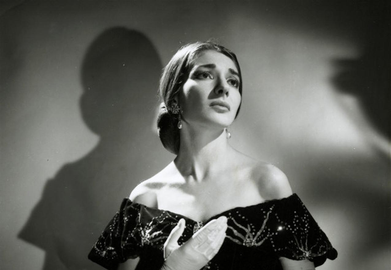 María Callas como Violetta de 'La Traviata' en la Royal Opera House (1958). Foto: Houston Rogers.