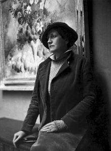 Olga Sacharoff, Francesc Serra, 1934.