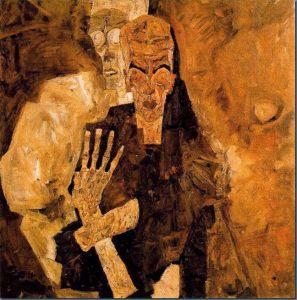Muerte y hombre (E. Schiele).