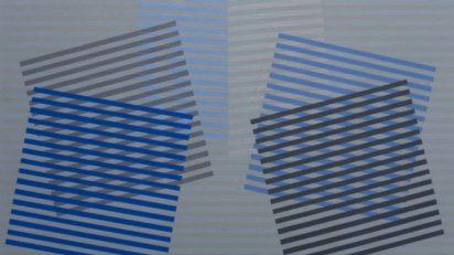Eusebio Sempere. Sin título, carpeta Transparencia del tiempo, 1977. Colección Fundación Juan March