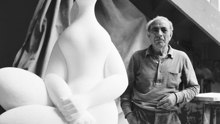 Baltasar Lobo, 1983. © Jean Marie del Moral.