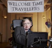 Stephen Hawking at Gonville & Caius College, Cambridge. Foto: Lwp Kommunikáció.