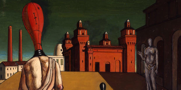 Unsettling Muses, by Giorgio De Chirico, 1918. Private Collection.