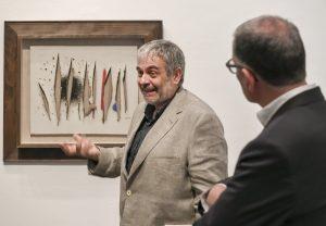 Joan Maria Minguet, comisario de 'Joan Miró, orden y desorden'.