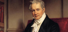 Alexander von Humboldt, pintado por Joseph Stieler, 1843.