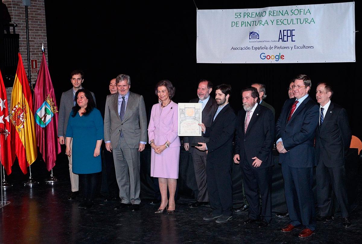 Premio Reina Sofía de Pintura y Escultura.