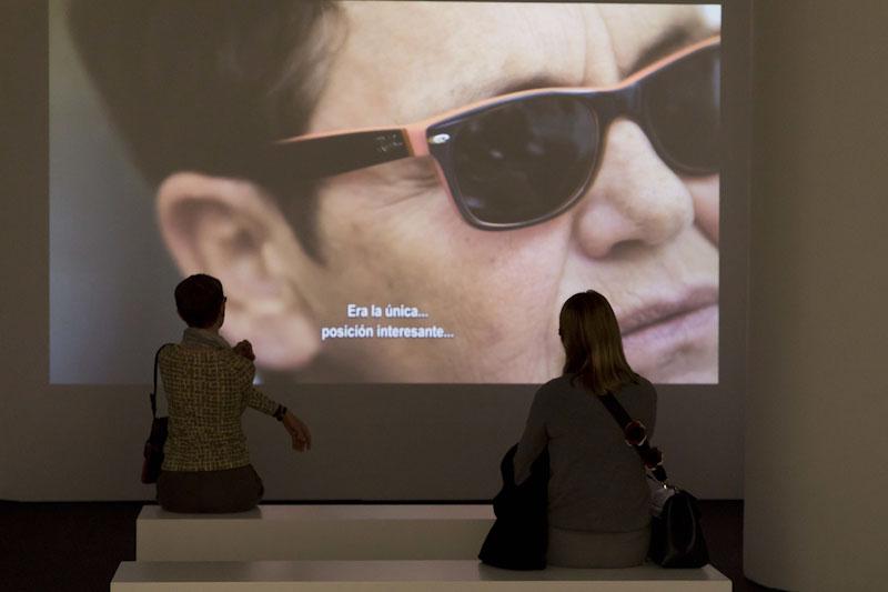 Exposición 'Segunda Vez' de Dora García. Museo Reina Sofía. © Luis Domingo.