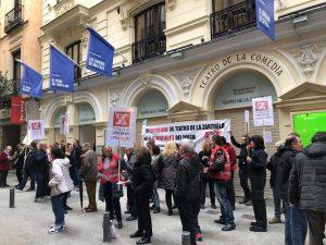 Movilizaciones contra el proyecto de unión.