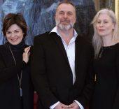 Anna Caterina Antonacci, David McVicar y Alexandra Deshorties. Foto: Javier del Real.