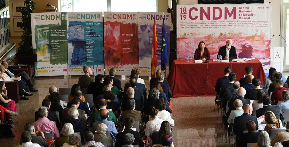 Presentación de la temporada del CNDM. Foto: Rafa Martín.