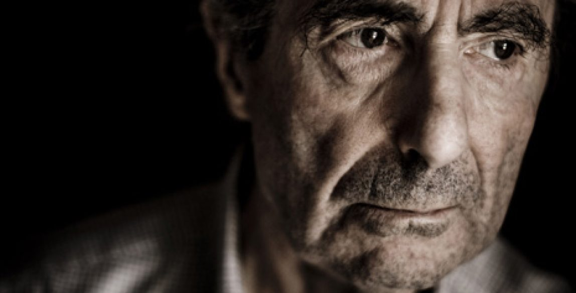 Writer Philip Roth at his home in Manhattan. Roth, an American novelist, has been writing award-winning fiction since 1959. Photo: Wolf Gang.