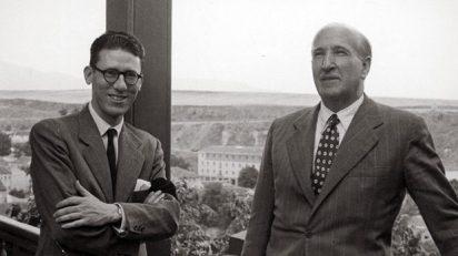 José Luis Cano y Vicente Aleixandre, dos de los protagonistas de esta crónica tan personal.