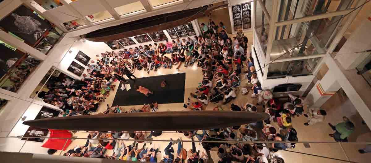Noche del Museo Nacional de Antropología.