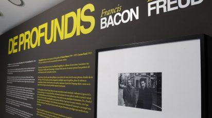 La exposición 'Francis Bacon - Lucian Freud. De profundis' ofrece un recorrido por la obra gráfica de ambos artistas y pone el foco en qué actitud y qué temas dedicaron cada uno de ellos a esta faceta de su producción artística.