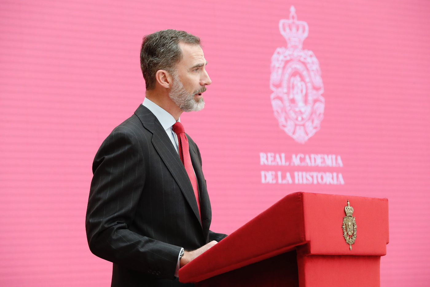 El Rey durante su intervención. © Casa de S.M. el Rey.