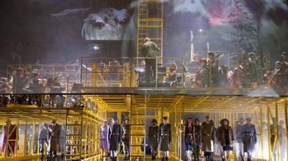 'Die soldaten' en la Ópera de Zúrich, donde se estrenó la producción en septiembre de 2013. Fotógrafa: © Monika Rittershaus | Opernhaus de Zúrich.