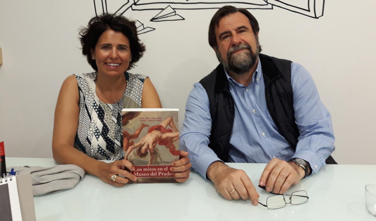 Marta Carrasco y Miguel Ángel Elvira Barba.