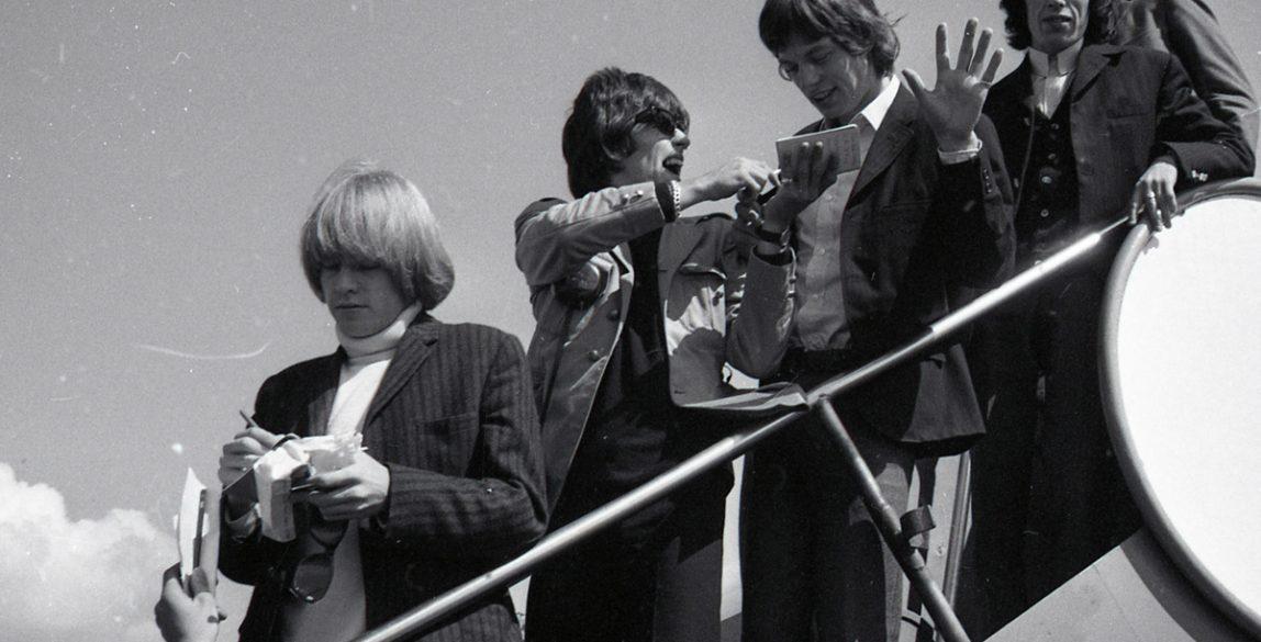The Rolling Stones. Av Øderud - Riksarkivet (National Archives of Norway).