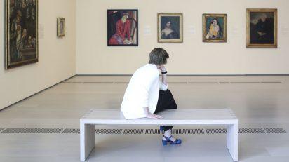 Vista de sala 'Retratos: esencia y expresión'.