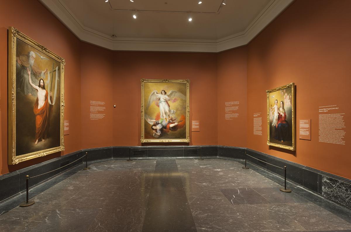 """Imagen de la exposición """"Antonio María Esquivel. Pinturas religiosas"""". Foto © Museo Nacional del Prado."""