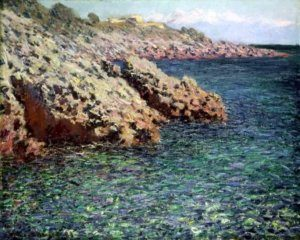 Claude Monet. La Méditerranée, (Cap d'Antibes), 1888. Óleo sobre lienzo. Columbus Museum of Art, Ohio. Bequest of Frederick W. Schumacher.