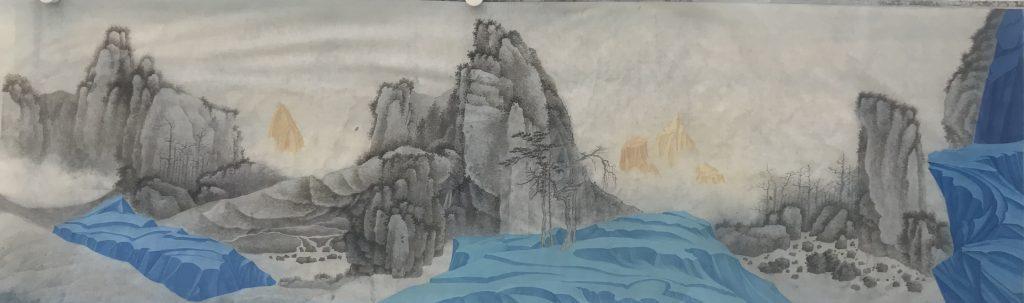 Xu Lei. Cross the mountain. 2017.