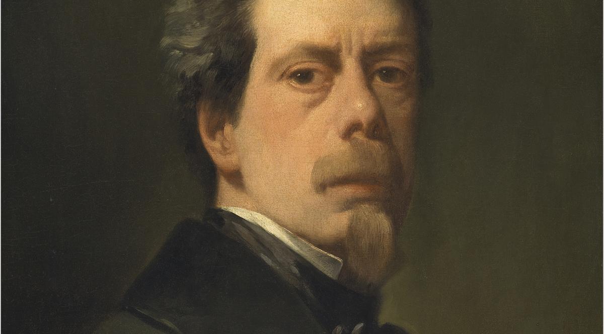 Autorretrato Antonio María Esquivel. Óleo sobre lienzo, 55 x 44 cm. Hacia 1856 Madrid, Museo Nacional del Prado.
