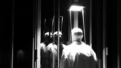 Bernardí Roig, Wittgenstein House (Viena), 2017 (fotograma del vídeo). Es Baluard Museu d'Art Modern i Contemporani de Palma, donación del artista y Galería Kewenig © de la obra, Bernardí Roig, 2018.