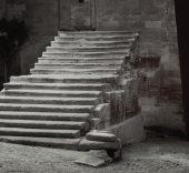 Montmajour, 1993. Fotografía a las sales de plata. 30 × 60 cm. Museu Nacional d'Art de Catalunya, Barcelona. Donación del artista, 2006. © Asociación Archivo Humberto Rivas.