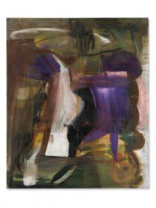 Albert Oehlen, Untitled, óleo sobre lienzo, 240 x 199,6 cm, 1989.