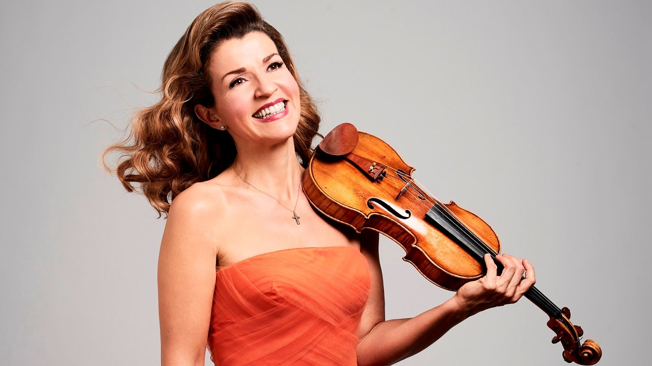 Anne-Sophie Mutter.