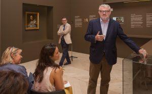 Miguel Falomir, director del Museo del Prado, durante la presentación. Foto © Museo Nacional del Prado.