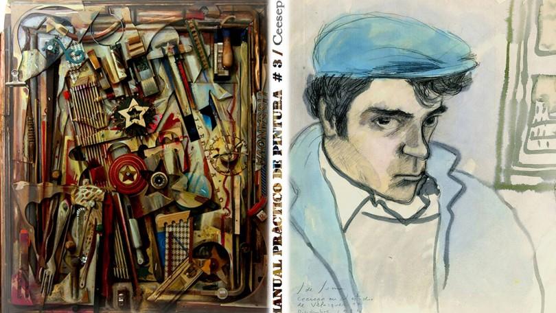 'Manual práctico de pintura #3' libro de artista, ideado, diseñado, compuesto y editado por Ceesepe.