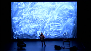Laurie Anderson. The Language of the Future. Performance realizada en Transmediale, 2017.