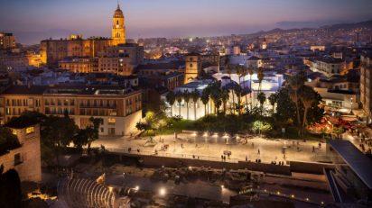 Fotografía del Museo Picasso Málaga desde La Alcazaba: Eduardo Grund © Museo Picasso Málaga, all rights reserved.