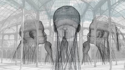 Jaume Plensa, Invisibles, 2018.