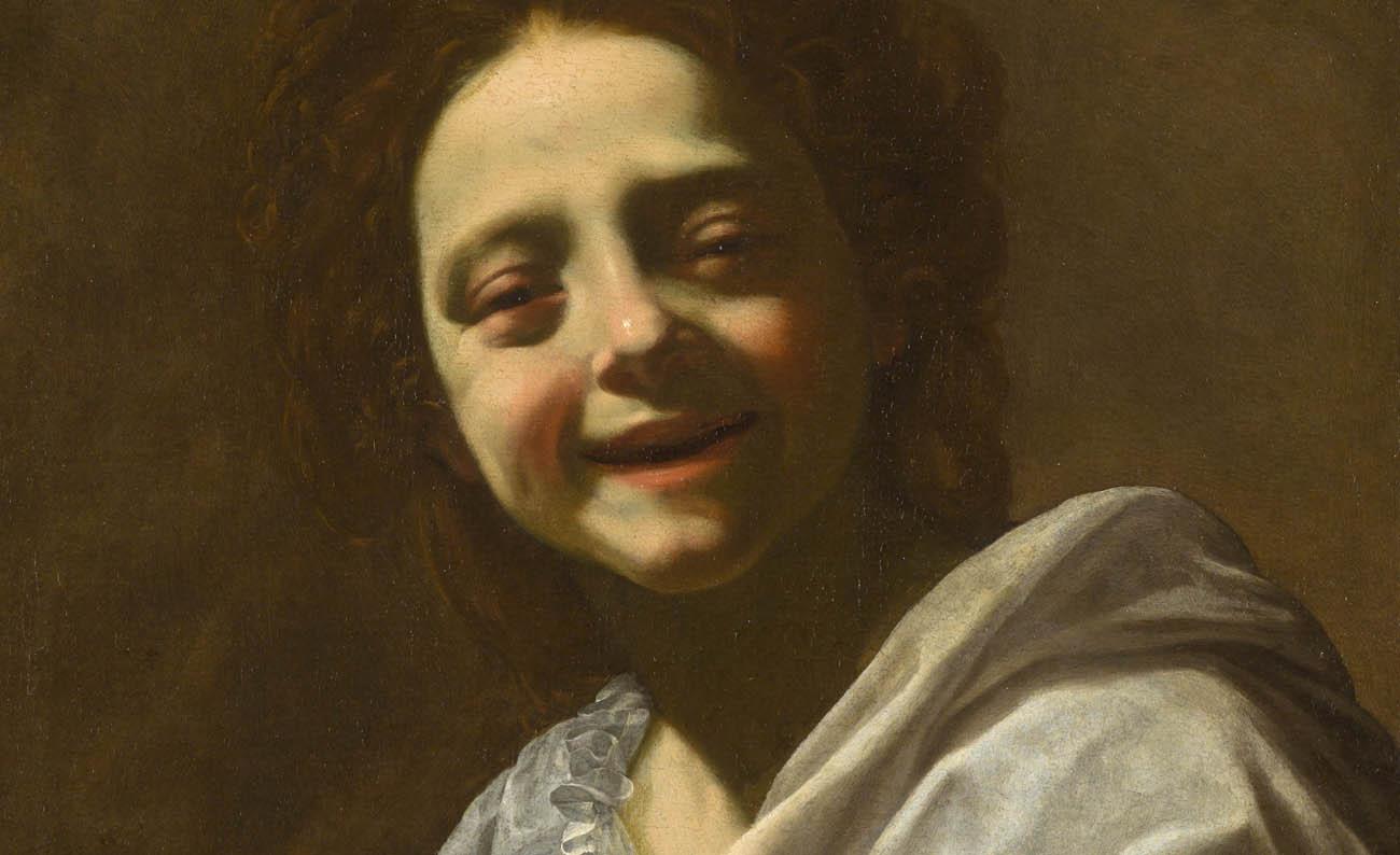 Retrato de niña con paloma de Simon Vouet. 1620 – 1622. Colección particular.