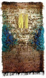 'Cada Día', 1990-92. Lana, yute, tela y cuerda. 300 x 180 cm.