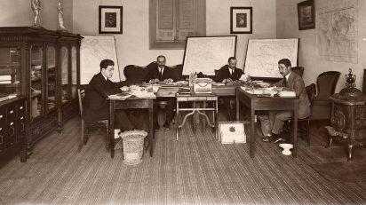 Oficina de la Guerra Europea.