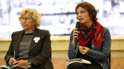 Manuela Carmena y Soledad Gutiérrez.