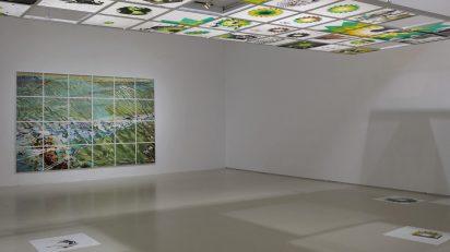 Vista de sala de la exposición 'Dierk Schmidt. Culpa y deudas'. Foto: Joaquín Cortes/Román Lores. Archivo MNCARS.