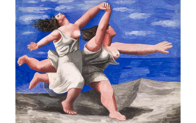 Pablo Picasso. 'Dos mujeres corriendo en la playa (La carrera). Dinard, verano 1922'. Musée national Picasso-Paris. © RMN-Grand Palais (Musée national Picasso-Paris) / Mathieu Rabeau. © Sucesión Pablo Picasso, VEGAP, Madrid, 2018.