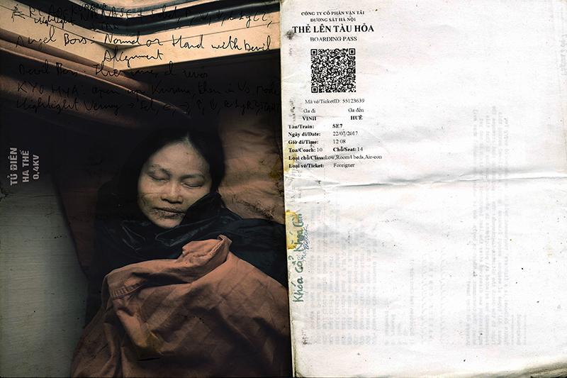 """""""Cuaderno de Vinh a Hue"""", Cristina Bezanilla Echeverría - Primer Premio."""