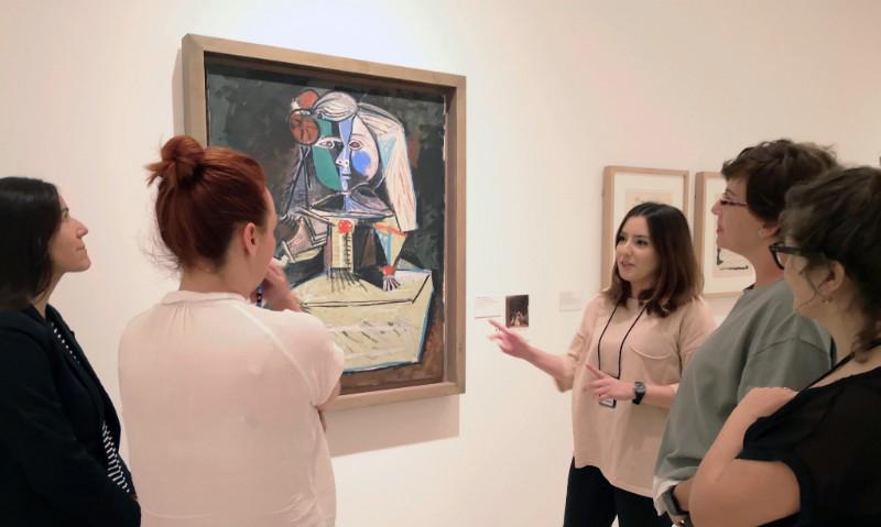 Visita guiada a la exposición El sur de Picasso © Museo Picasso Málaga.