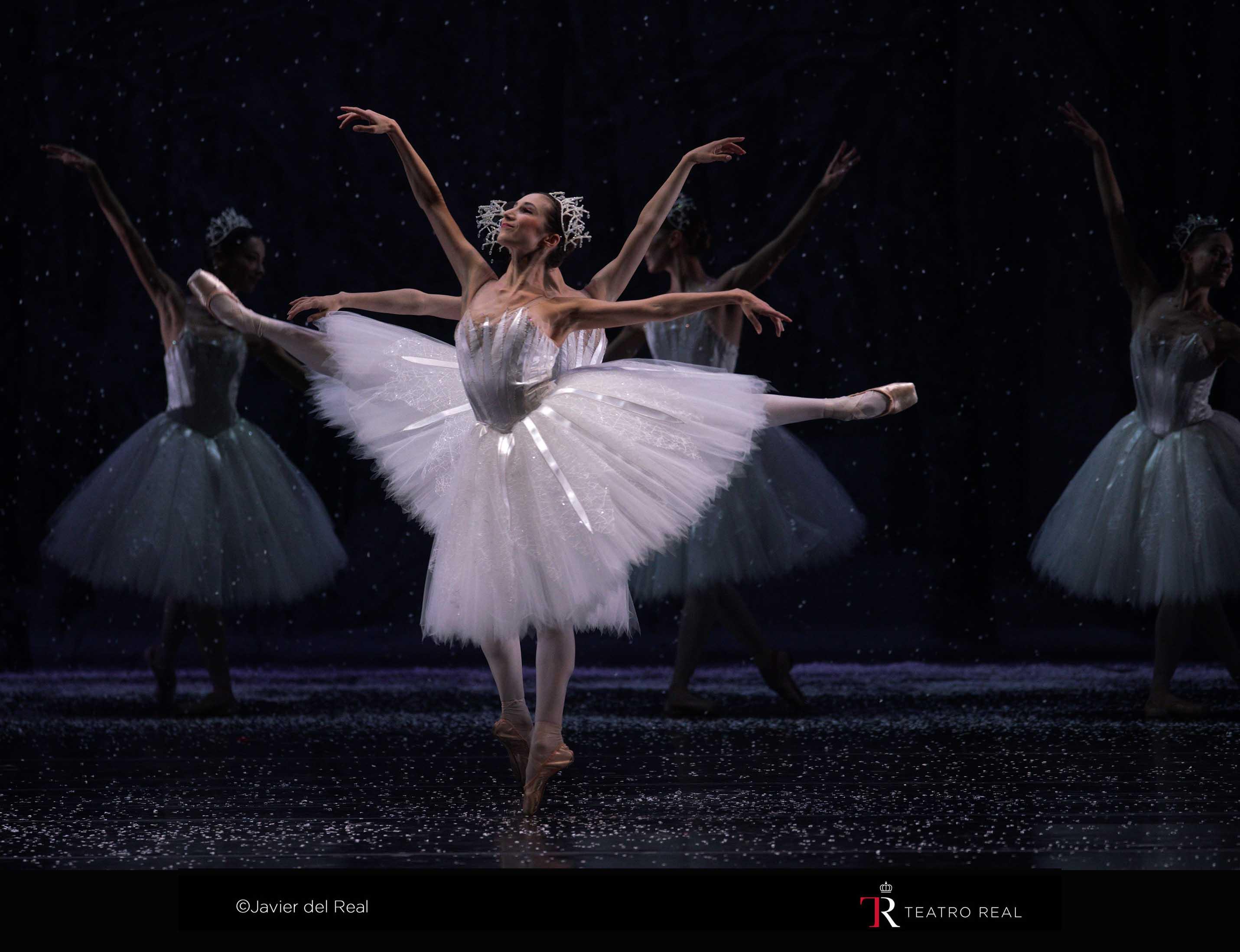 Copos de nieve. El cascanueces. © Javier del Real / Teatro Real.