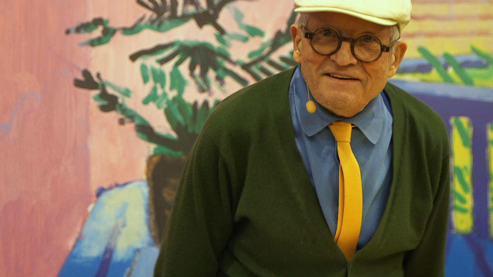 David Hockney (2017) de Michael Trabitzsch. © Prounenfilm.