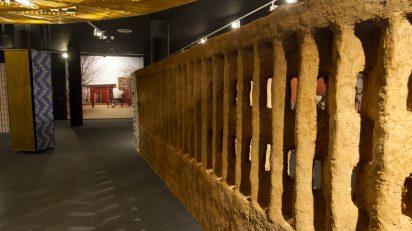 Exposición 'Francis Kéré. Elementos primarios'. Museo ICO. ©Luis Domingo.