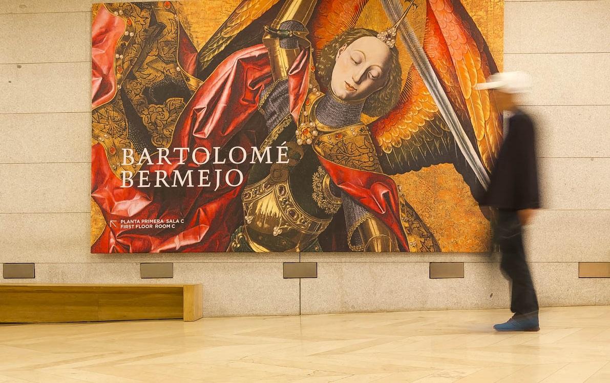 Antológica dedicada a Bartolomé Bermejo. © Luis Domingo.