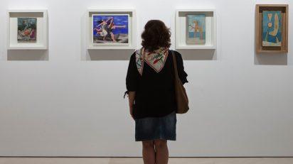 """""""El sur de Picasso. Referencias andaluzas"""". Museo Picasso Malaga. © MPM / jesusdominguez.com."""